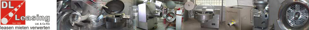 DL Leasing 1988 LTD. & Co KG, Used food processing machines